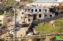 Israeli Occupation Forces demolish residential building in Hebron