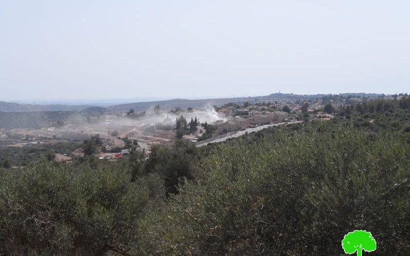 Israel removes landmines to establish new colonial quarter in Karne Shamron colony