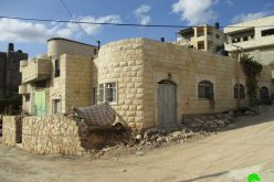 "The Israeli Occupation Authorities  to demolish a prisoner's residence on ""security claim"" in Jenin governorate"