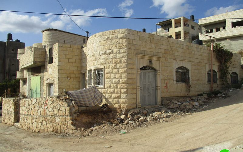 """The Israeli Occupation Authorities  to demolish a prisoner's residence on """"security claim"""" in Jenin governorate"""