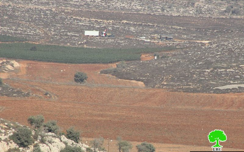 Israeli colonists establish new outpost in the Nablus village of Jalud