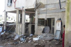 "Israeli Occupation Forces demolish structures on ""security claim"" in Jenin governorate"