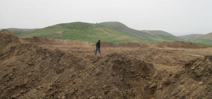 الاحتلال يدمر مقبرة أثرية أثناء التدريبات العسكرية في الأغوارمحافظة طوباس