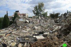 جيش الاحتلال يهدم أربعة مساكن في مدينة جنين بذريعة الأمن
