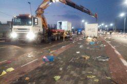 جيش الاحتلال يصادر أكشاك تجارية متنقلة عند حاجز الجلمة العسكري محافظة جنين