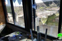 المستعمرون يعتدون على الفلسطينيين وممتلكاتهم في قرية فرعتا محافظة قلقيلية