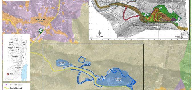 التوسعة مستعمرة نيجهوت إيداع مخطط تفصيلي يلتهم 291 دونماً من أراضي غرب بلدة دورا بمحافظة الخليل