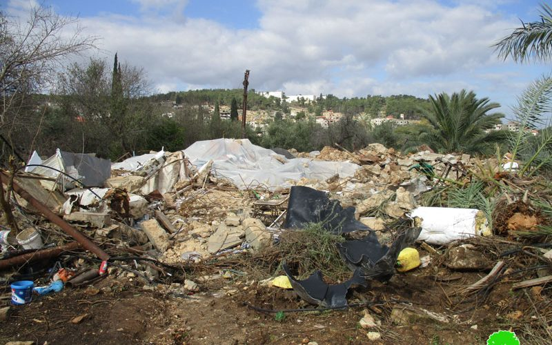 """Israeli Occupation Forces demolish residences in Jenin governorate on """"Security"""" claims"""