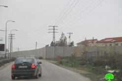 استكمال بناء الجدار العنصري لصالح مستعمرة بيت ايل عائلة حامد محاصرة بالجدار