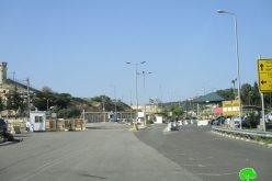 مصادرة أكشاك لبيع المواد الغذائية بالقرب من حاجز برطعة العسكري / محافظة جنين