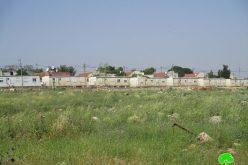 """إضافة عدد من الوحدات السكنية المتنقلة بالقرب من مستعمرة """" تفوح"""" شمال قرية ياسوف / محافظة سلفيت"""