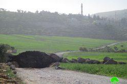 Israeli Occupation Forces seal off Al-Mughayyir village entrance