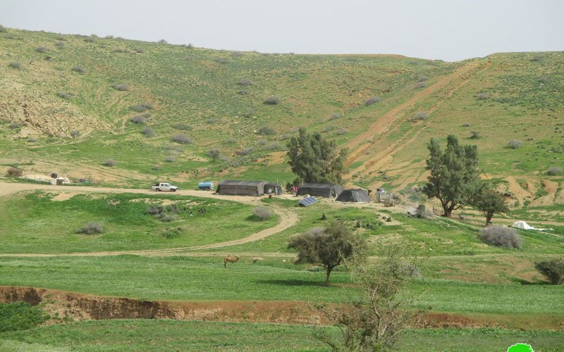 Eviction orders on Ibziq Bedouin community on the claim of holding military trainings in the area