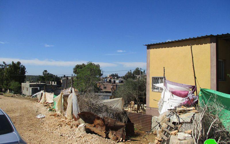 منع إنشاء مبنى مجمع خدمات في خربة امريحة جنوب بلدة يعبد / محافظة جنين