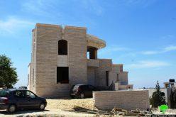 Stop work orders on residences in the Hebron town of Beit Ummar