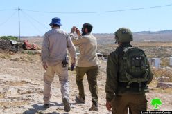 الاحتلال يهدد بهدم مساكن المواطنين في خربة غوين جنوب السموع  محافظة الخليل