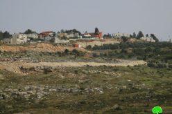 الشروع بإنشاء مقطع من العنصري في محيط مستعمرة  معاليه إسرائيل على حساب أراضي قرية سرطة