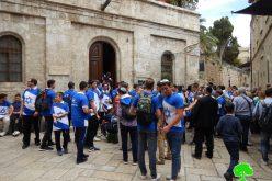 اغلاقات واعتداءات واقتحامات للمسجد الأقصى في ذكرى ما يسمى بيوم توحيد القدس