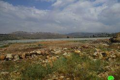 اخطار بوقف البناء يطال الملعب الوحيد في قرية شقبا محافظة رام الله