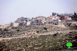 مستعمرون يقيمون بؤرة جديدة غرب قرية فقيقيس بمحافظة الخليل