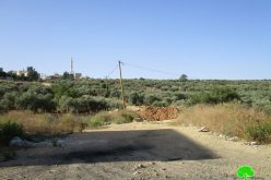 Israeli Occupation Forces notify agricultural barrack in Tubas governorate