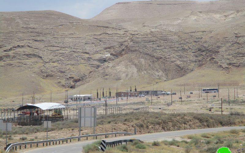 الشروع بتوسعة مستعمرة  ميفوؤت يريحو على أراضي النويعمة محافظة أريحا