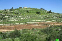 إخطار بوجوب الإخلاء لـ 14.5 دونماً من الأراضي الزراعية جنوب بلدة يعبد بحجة أنها أراض دولة محافظة جنين