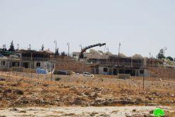الاحتلال يدمر ويصادر مدرسة خلة الضبع شرق يطا/ محافظة الخليل