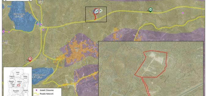 الاحتلال يقيم نقطة عسكرية في موقع جبل صبيح جنوب بلدة بيتا  محافظة نابلس