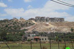 مستعمرة  ليشم خطر يهدد البيئة و الارض الفلسطينية