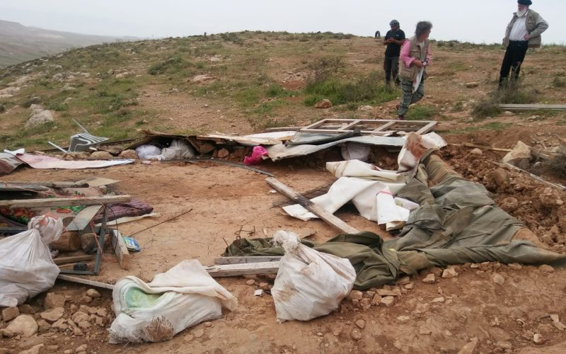 Demolition and confiscation in the Hebron town of Yatta
