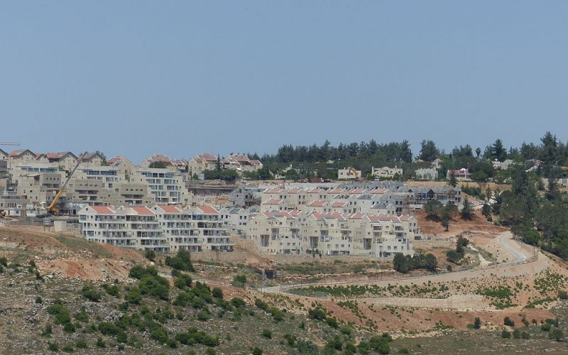 Monitoring Report on the Israeli Settlement Activities in the occupied State of Palestine – July 2018