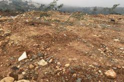 مستعمرون يعتدون على مواطنين وأراضيهم في خلة الثغرة شرق الخليل