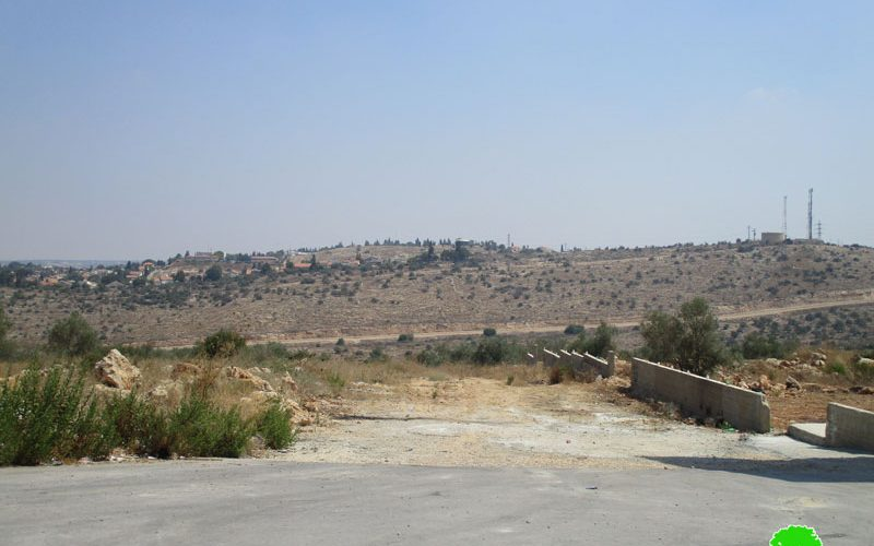 مخطط استعماري جديد لإقامة مقبرة إسرائيلية غرب بلدة الزاوية محافظة سلفيت