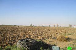 الاحتلال يشرع في إغلاق فتحات مائية في منطقة الجفتلك / محافظة أريحا
