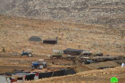 إخطارات بإخلاء 7 عائلات فلسطينية في الأغوار الشمالية بحجة التدريبات العسكرية / محافظة طوباس