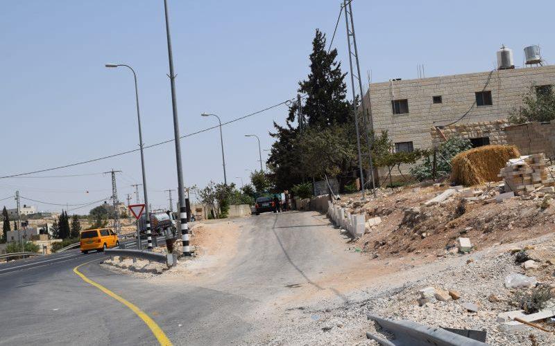 امر مصادرة اسرائيلي يستهدف الاراضي والممتلكات في قرية جناتا الفلسطينية