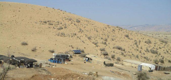 Demolition orders on residences and agricultural facilities Al Hadidiya hamlet in Tubas