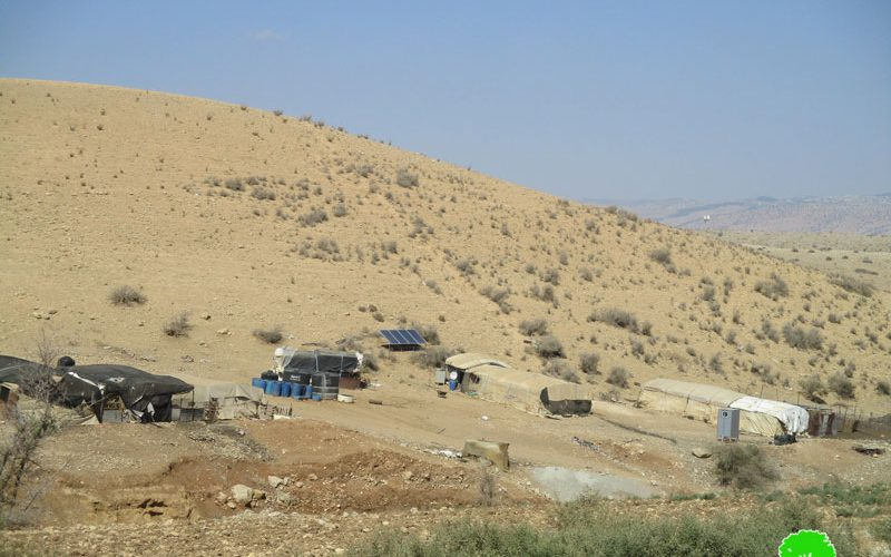 Demolition orders on residences and agricultural facilities Al Hadidiya hamlet in Tubas