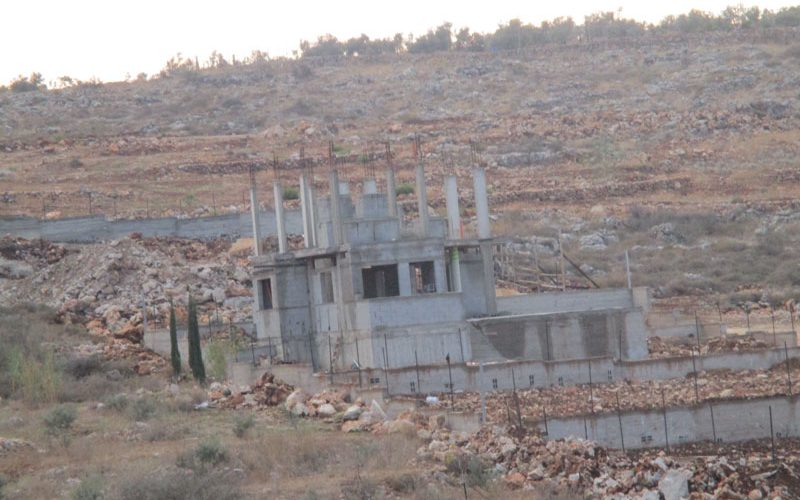 Stop construction orders on residential and Agricultural structures in Az-Zawiya / Salfit governorate