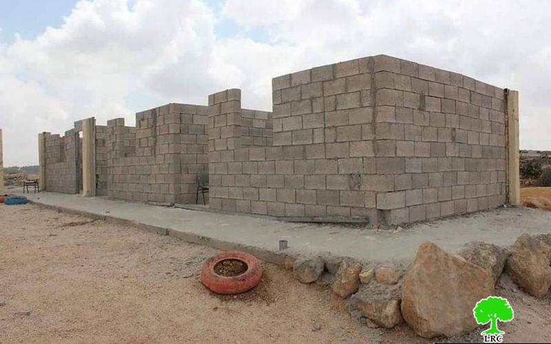 أمر نهائي بهدم مدرسة خربة زنوتا جنوب الظاهرية محافظة الخليل