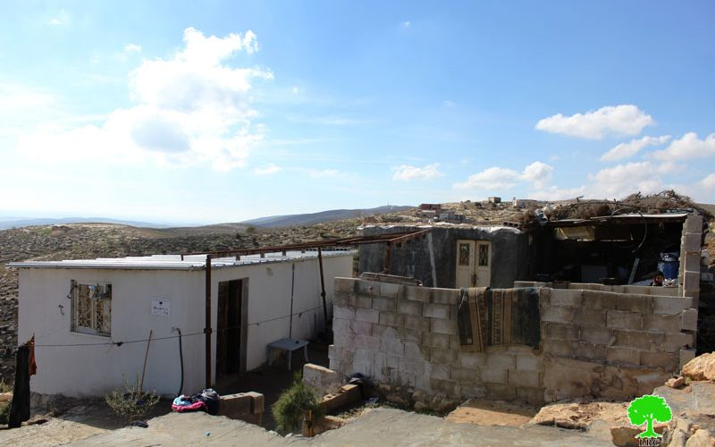 Israeli Occupation Forces issue final demolition order on residences in Khalet ad Dabaa'-Yatta