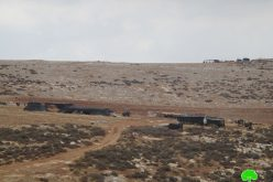Eviction notices for 7 families in northern Jordan valley area for military trainingsTubas governorate