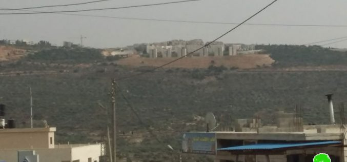 """Expanding """"Ariel"""" settlement / Salfit governorate"""