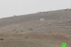 New colonial outpost in the northern Jordan valley area/ Tubas