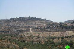 "Expanding ""Kedumim east"" settlement / Qalqilya governorate"
