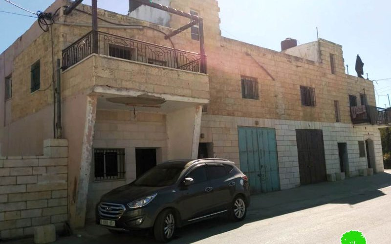 Stop work orders on a residence in the Hebron village of Beit Ummar