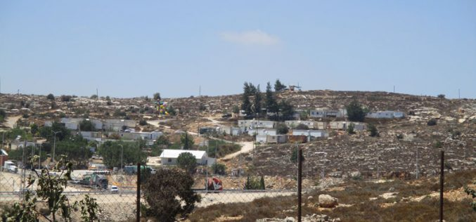 "Expanding ""Givat Asaf"" in Beitin village –Ramallah governorate"