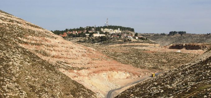 The Israeli occupation demolished an agricultural structure in Suba hamlet/ Hebron