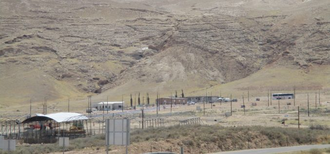 منع استغلال المراعي المحيطة بتجمع عرب الكعابنة في قرية العوجا / محافظة أريحا